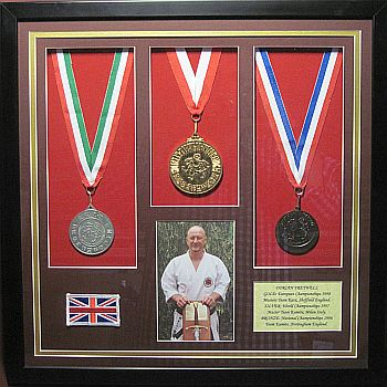 Honours and Awards, Sports Memorabilia Displays